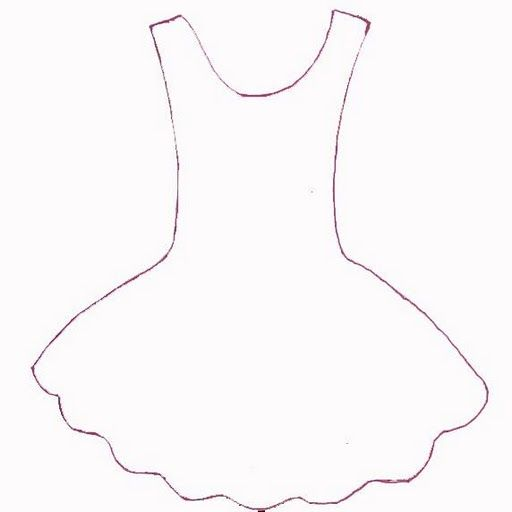vestido de bailarina molde - Buscar con Google                                                                                                                                                     Mais