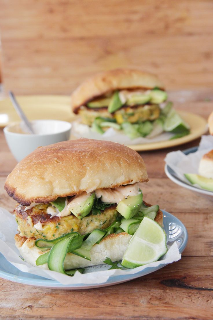 I Quit Sugar - Mexican Fish Burgers with Paprika Mayo