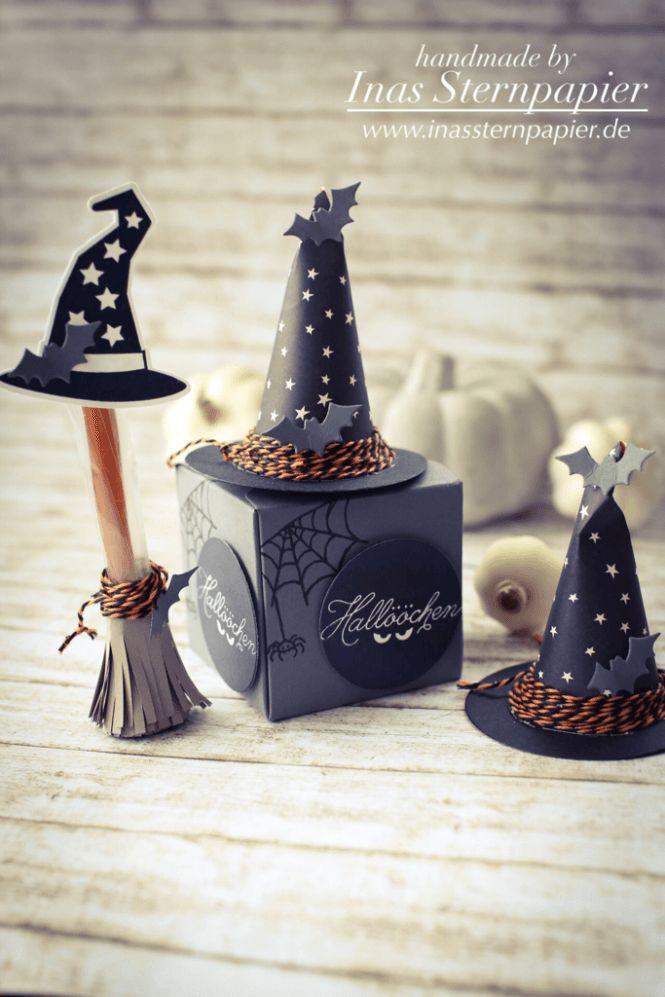 Stampin Up Halloween Verpackung