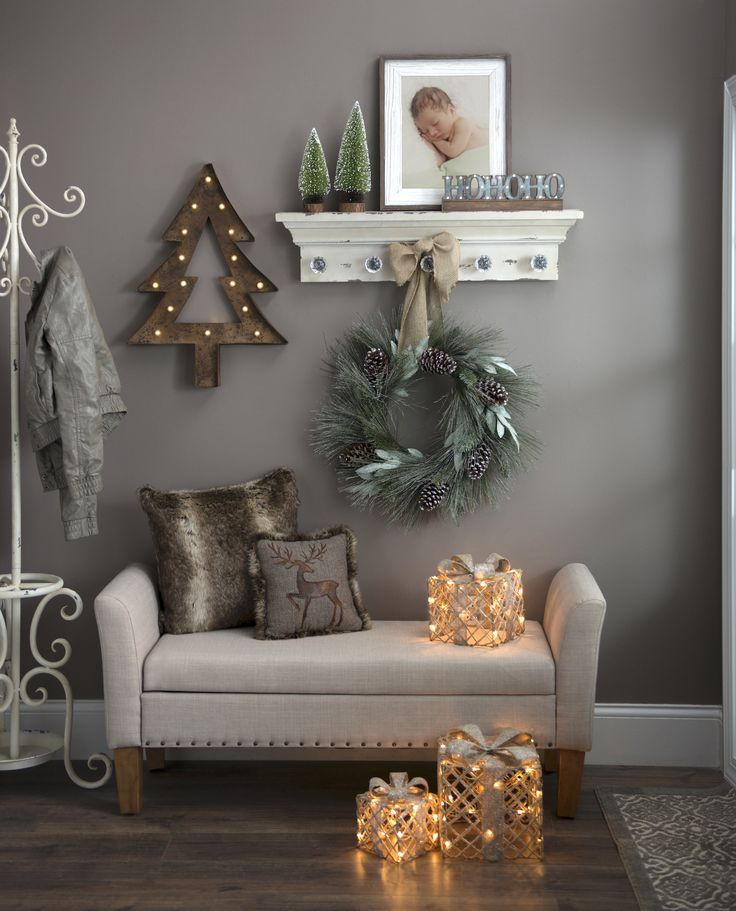Elegant And Neutral Christmas Foyer: 1000+ Ideas About Fall Entryway Decor On Pinterest