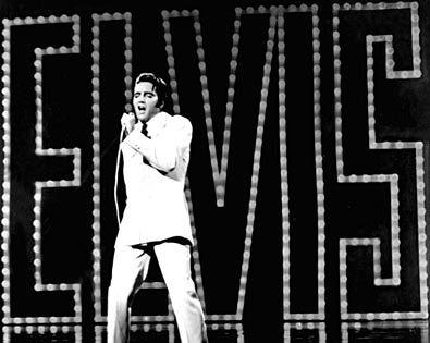 Photos  of Elvis Presley on Pinterst | Elvis Presley | NAME IN LIGHTS Elvis' 1968 comeback special was as ...