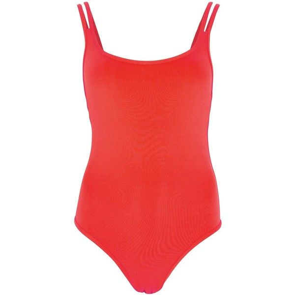 JETS By Jessika Allen Flame Red Swimsuit - Size 16 (175 NZD) ❤ liked on Polyvore featuring swimwear, one-piece swimsuits, red swimwear, low back one piece swimsuit, low back swimsuit, swim suits and red low back swimsuit
