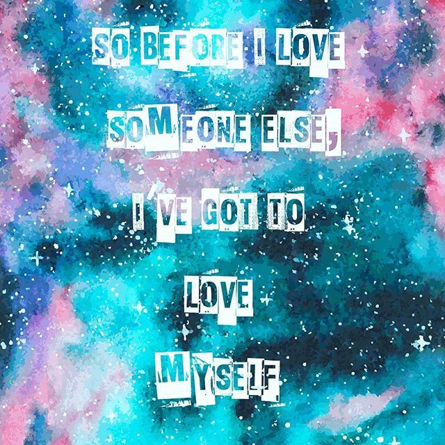 This song. So true and I have grown so much. I honestly love harder and better. So grateful. You gotta love yourself first. <3 #selflove #grow