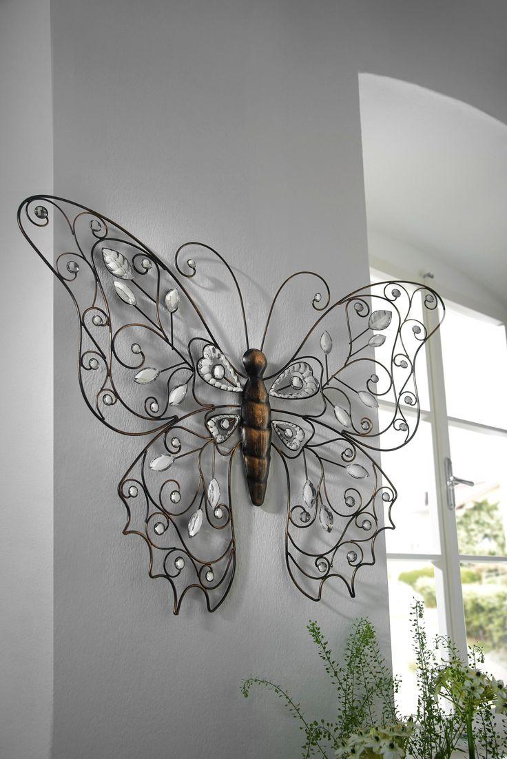 Great Schmetterling als Wanddeko der trendige Blickfang f r Ihr Zuhause