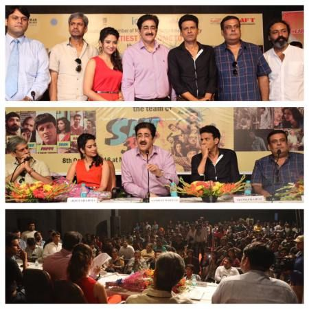 Marwah Studios has been an international platform for film, television and media activities of the entertainment industry. More than 3200 events have been planned and conducted in last 25 years of its existence. Recently renowned actors Manoj Bajpayee, Vijay Raaz, Aditi Sharma along with the producer Rahul Mittra and director Sanjeev Sharma of the feature film Saat Uchachkkey were there at the studios to interact with the students of Asian Academy of Film And Television