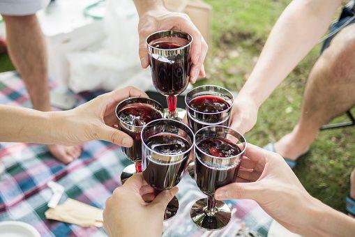 Rode wijnvlekken? Die zijn zo weer weg!