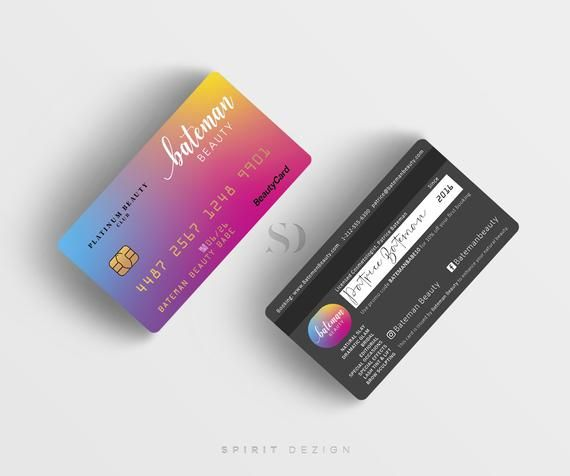 Pin On Credit Card Business Card