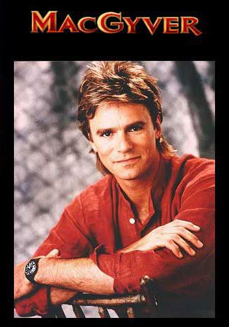 MacGyver can make anything from anything. The guy to be with you in a crisis situation. MacGyver was played by Richard Dean Anderson. Aired from 1985-1992.
