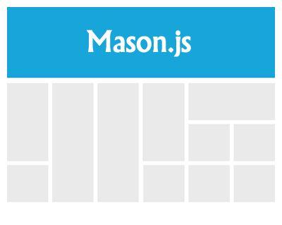 Mason.js – jQuery Plugin to Create Grid Layout