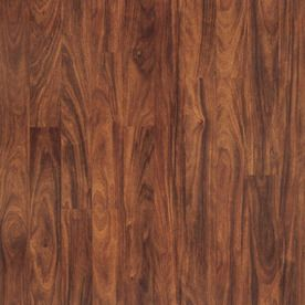 Pergo Max Smooth Mahogany Wood Planks Sample - for mom & dad's house