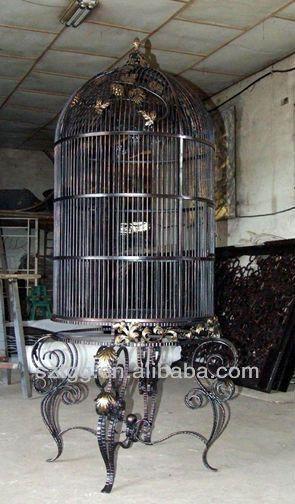 Luxury Big Bird Cage Wrought Iron Bird Cage Large Bird Cage SBC01 - Пошук Google