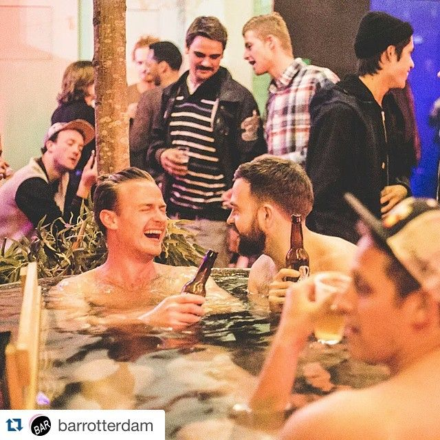 #Repost @barrotterdam #rotterdam #nightlife ・・・ Get out of your comfortzone and into our hot tub! #CHIPS