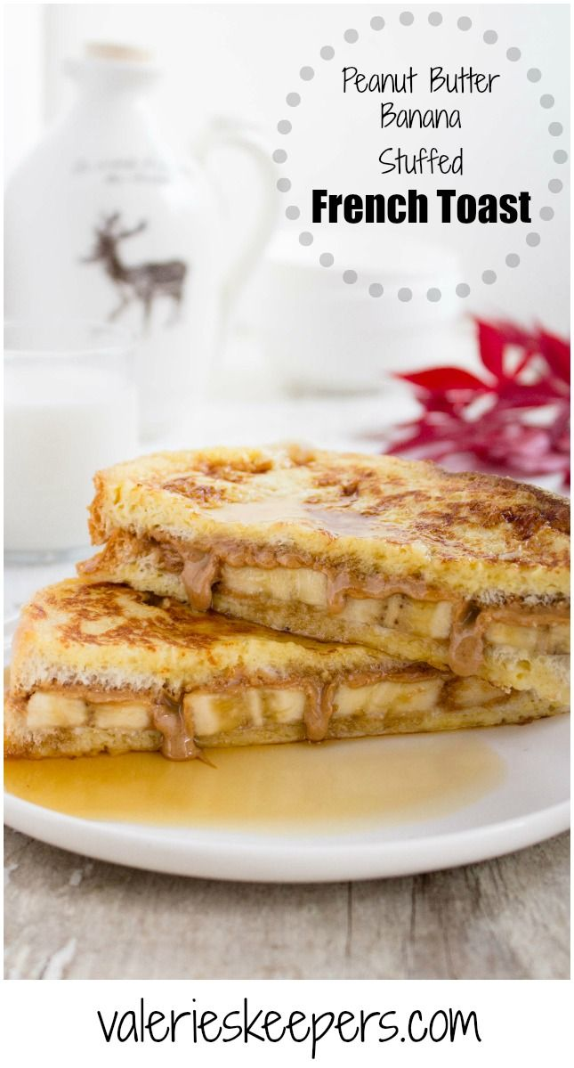 Bring breakfast to another level by adding a fun twist to your usual french toast with this delicious Peanut Butter & Banana Stuffed French Toast recipe.