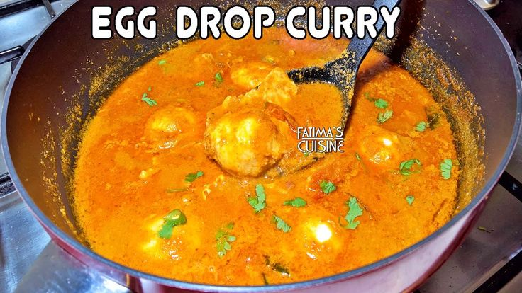 Easy and Tasty Egg Drop Curry | Egg Curry Recipe || * Fatima Fernandes |...