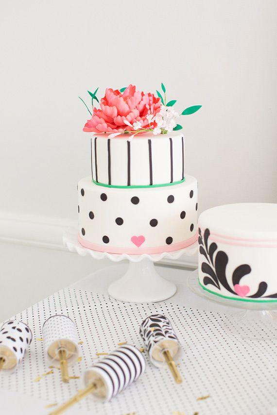 Свадебный торт черно-белый донецк