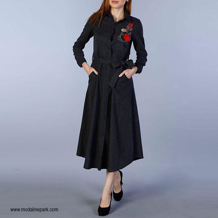 🌼Çiçek Nakışlı Elbise Stoklarda! 💥Üstelik Ücretsiz Kargo Avantajıyla... 📍Hemen Satın Al👉https://goo.gl/vPsmg6 📍Whatsapp Sipariş Hattı: 0549-248-47-90