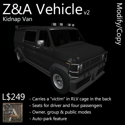 Z&A Vehicle (Kidnap Van)