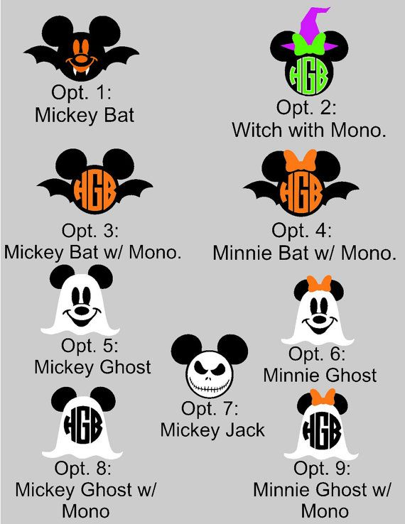 Magic band decals for Halloween by Ashetounding on Etsy