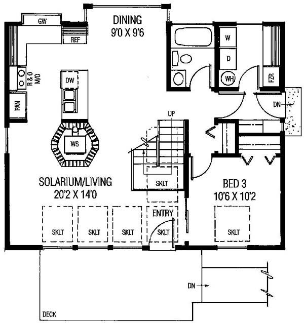 Saltbox House Plan Id Chp 22915 Coolhouseplans Com House Plans Saltbox House Plans Contemporary Style Homes Open concept saltbox house plans