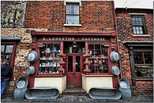 Hardware Shop The Black Country Living Museum at Dudley Midlands England UK. by Antsphoto, via Flickr