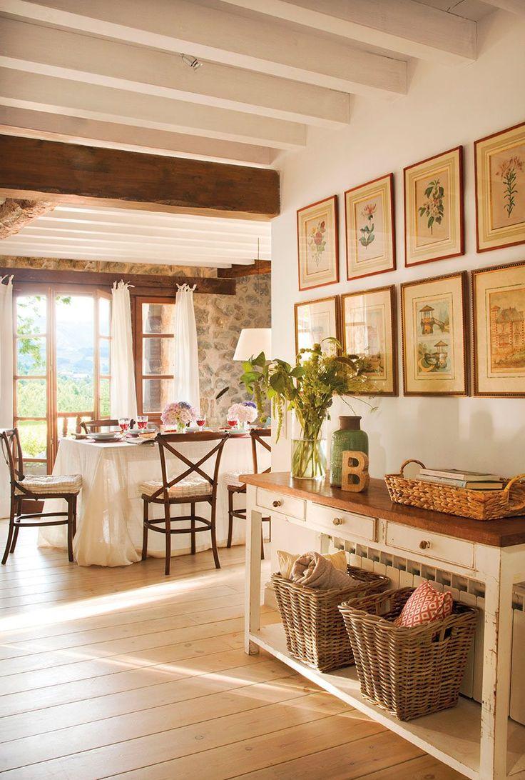Las 25 mejores ideas sobre muebles r sticos en pinterest y - Decoracion casa de campo ...