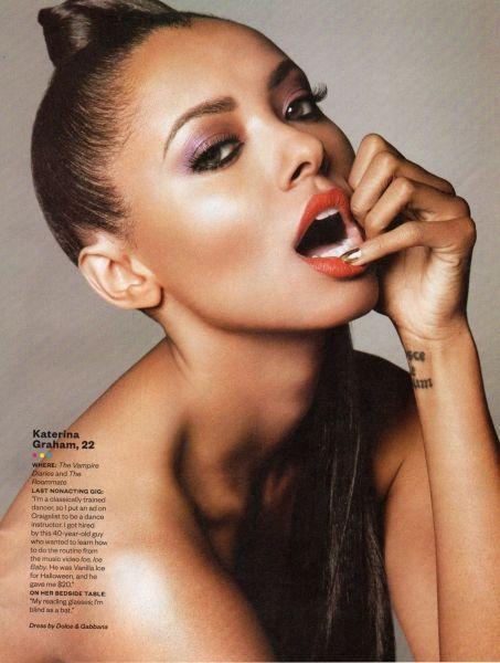 Katerina Graham in Ebony Magazine
