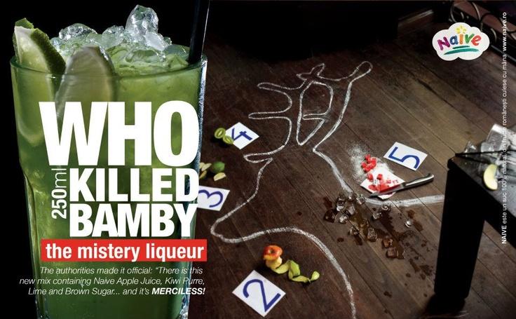 Who Killed Bamby?  The mistery liqueur.