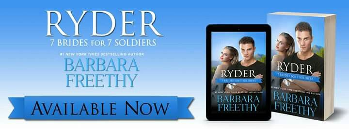 Fall in love with seven #sexy and #irresistible #soldiers who find their courage and heart tested like never before in the battle for love! This multi-author collaborative series of #contemporary #romance novels is brought to you by bestselling authors Barbara Freethy, Roxanne St. Clairet, Christie Ridgway, Lynn Raye Harris - Official Fan Page, Julia London, Cristin Harber and Samantha Chase. You won't want to miss a single one!  ktcastle.wordpress.com/?p=4588 InkSlinger PR Barbara Freethy…