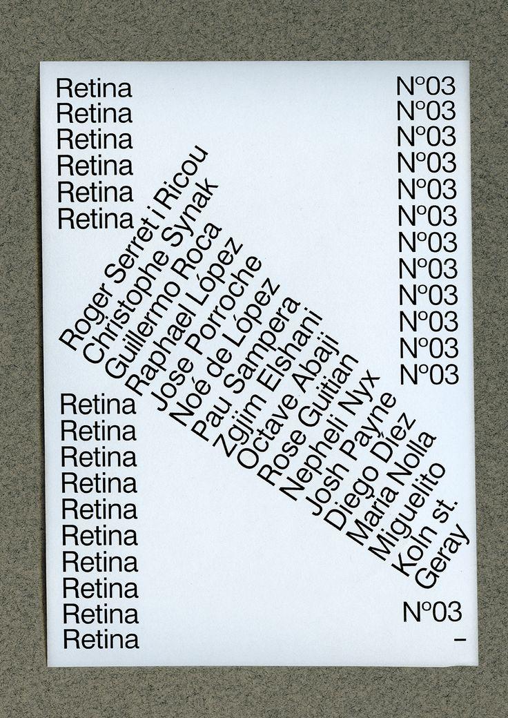 R E T I N A - N º 0 3 on Behance