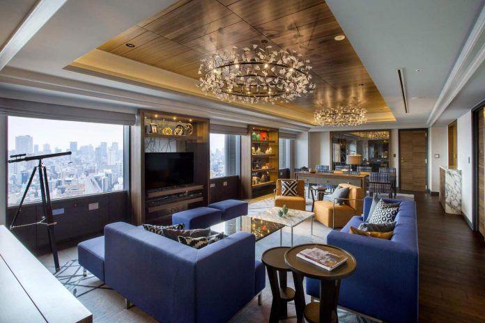 Swissôtel Nankai Osaka luxury apartment designed by Design Studio Crow - CAANdesign | Architecture and home design blog