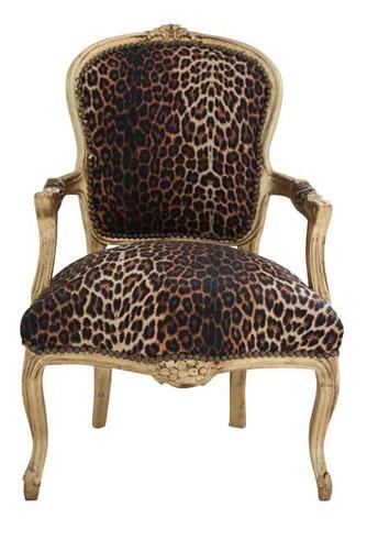 win a leopard print chair