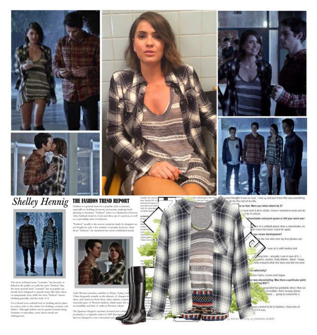 """""""Shelley Hennig as Malia Tate / Hale. { Teen Wolf - 5.01 Creatures of the Night }"""" by albacampbell ❤ liked on Polyvore"""