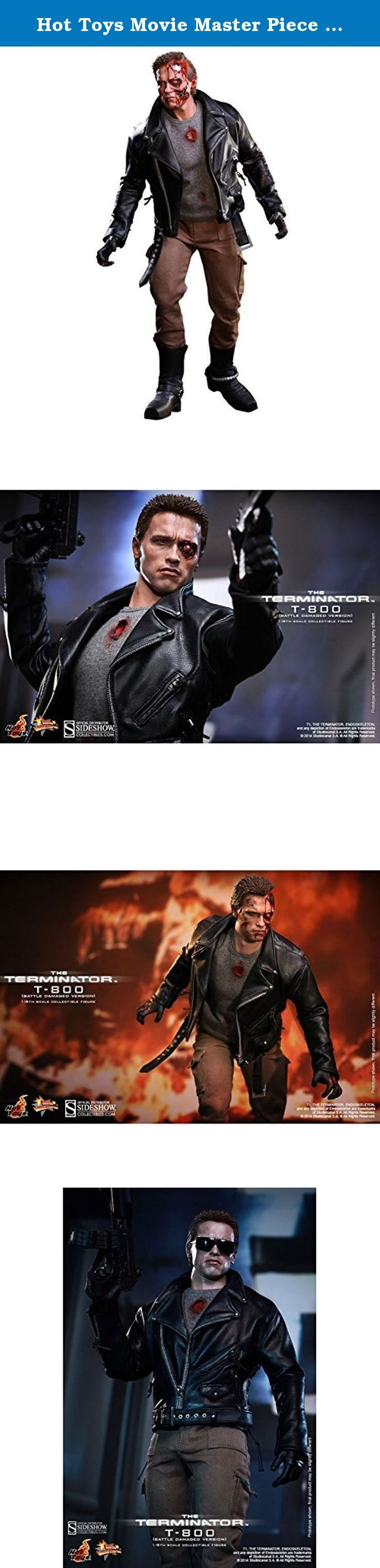 Hot Toys Movie Master Piece - The Terminator: T-800 Battle Damaged Version. Ill be back. Arnold Schwarzeneggers iconic portrayal of the cyborg assassin in The Terminator has remained a classic in popular culture and among fans! Sideshow Collectibles and Hot Toys proudly present the T-800 (Battle Damaged Version) sixth scale figure from The Terminator.The T-800 collectible is specially crafted based on the image of Arnold Schwarzenegger in battle damaged look from the movie featuring two...