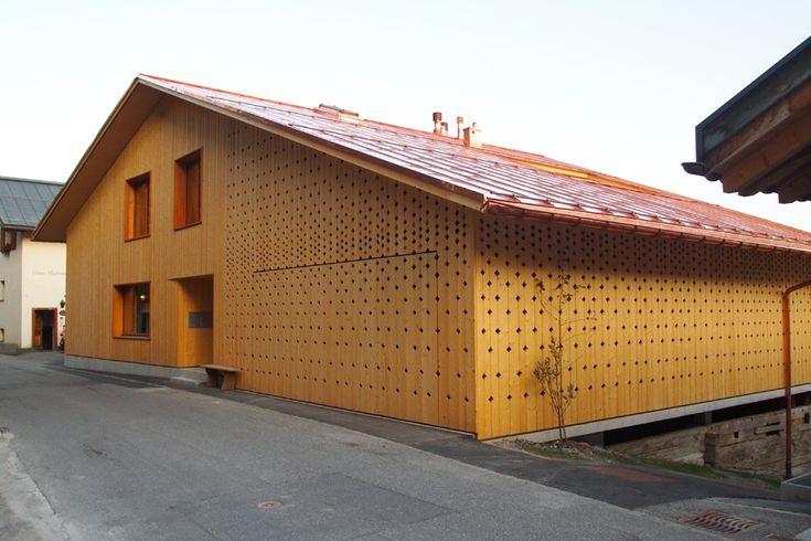 Wohnhaus in Flims | Lehm Ton Erde, Martin Rauch, Vorarlberg