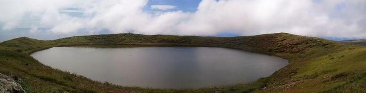El Junco Lagoon in the Galapagos Islands, Ecuador.