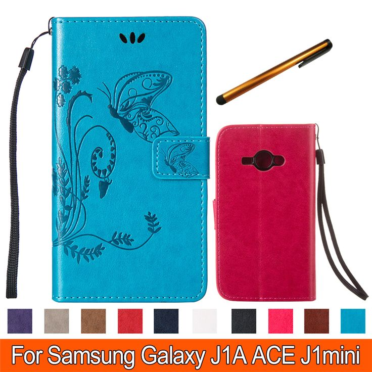 Find More Phone Bags & Cases Information about Butterfly Wallet PU Leather Phone Case for Samsung J1 Ace Flip Phone Cover stand cases with Card Holder Coque for Samsung J1 Ace,High Quality case per hard disk sata,China case v3 Suppliers, Cheap case luxury from TopArmor Store on Aliexpress.com