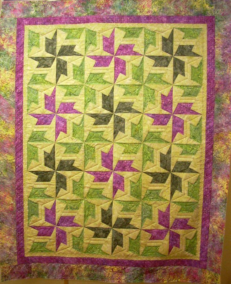 "Thornton pattern using the ""X-Block"" technique"