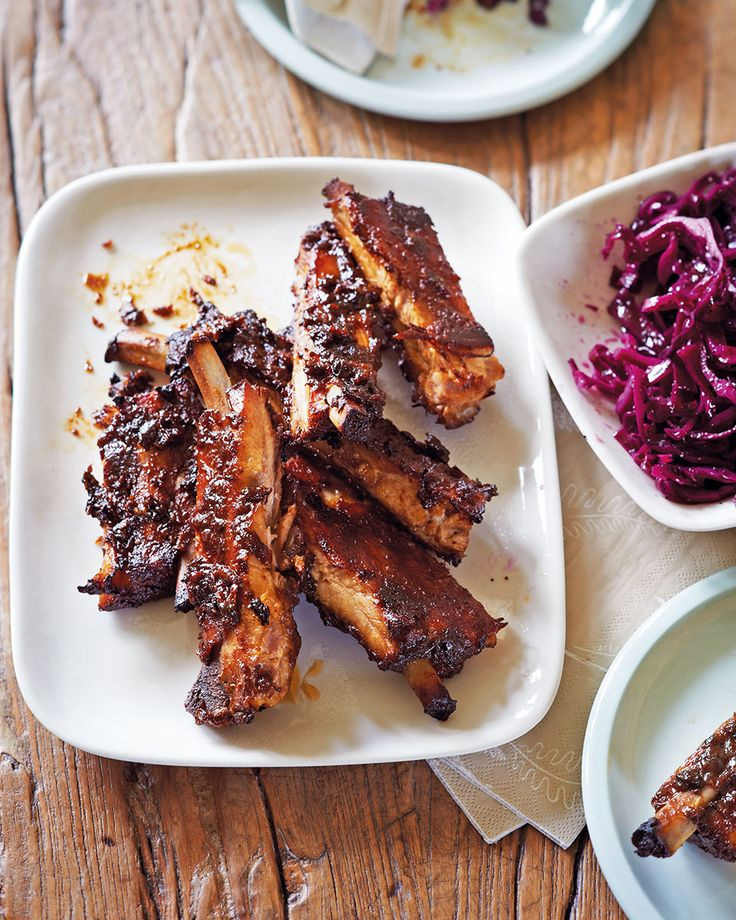 Once you've tried these sticky, glazed pork ribs – slow cooked in a barbecue marinade until tender and falling off the bone – you'll be coming back to this easy recipe again and again.