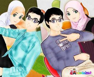Kartun Gambar Muslimah Yang Cantik ~ Selamber Jer