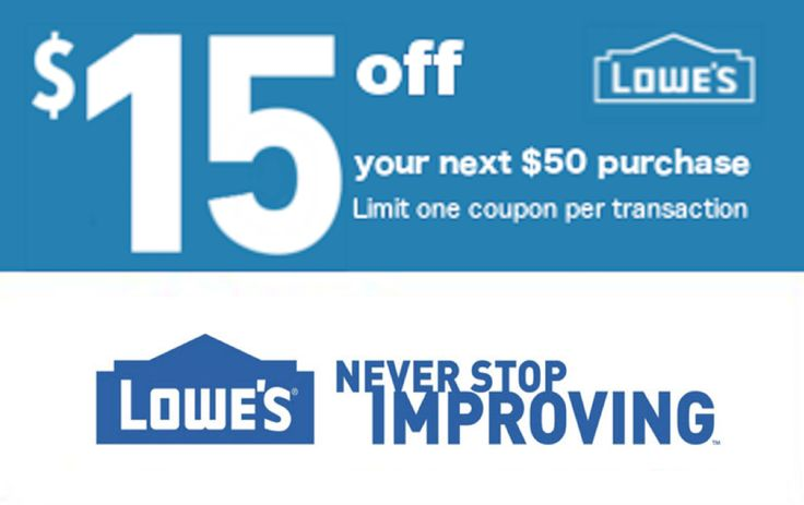 Buy coupons lowes