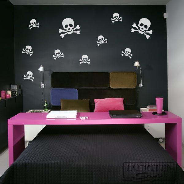 Die besten 25+ Wandtattoo pirat Ideen auf Pinterest - wandtattoo fürs schlafzimmer