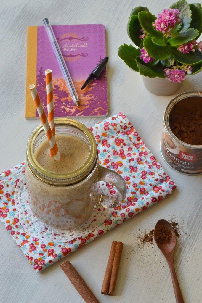 Shake au succédané torréfié (alternative au café) et aux épices