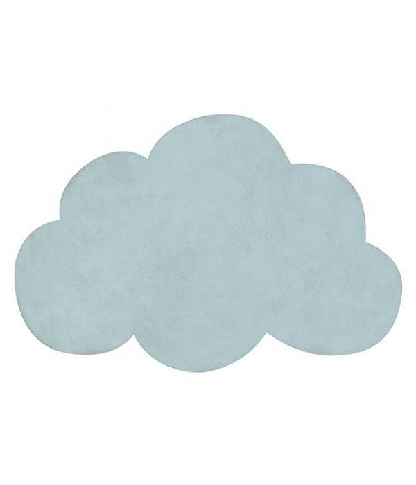 Lilipinso vloerkleed wolk mint