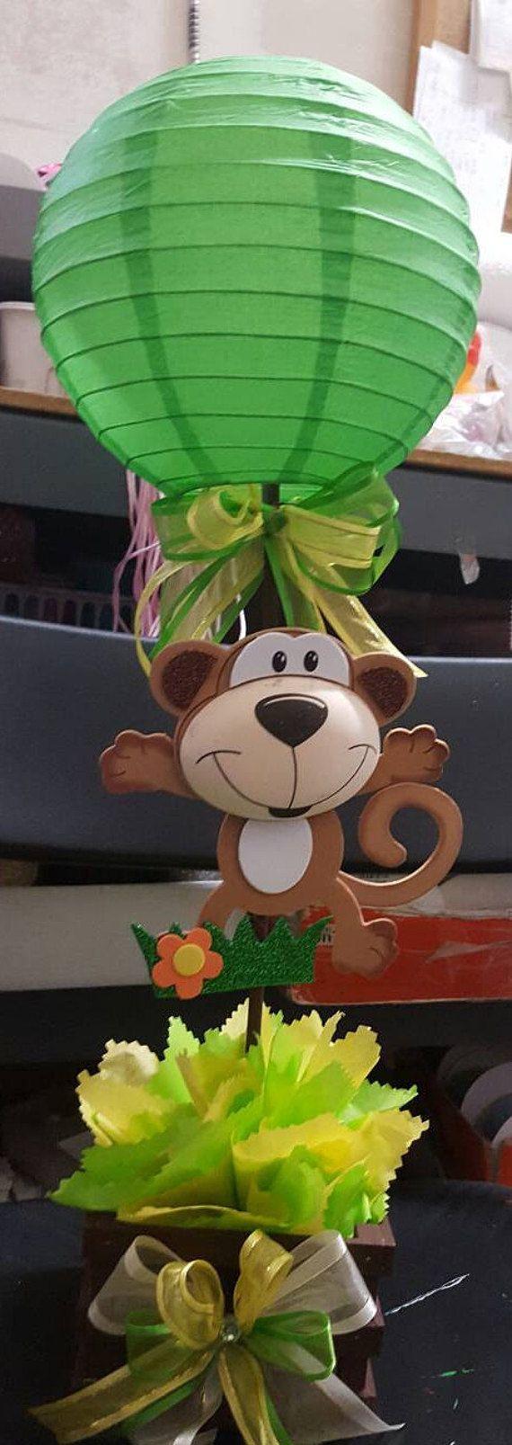 Safari centro de mesa fiesta de safari por BabyPartyBoutique