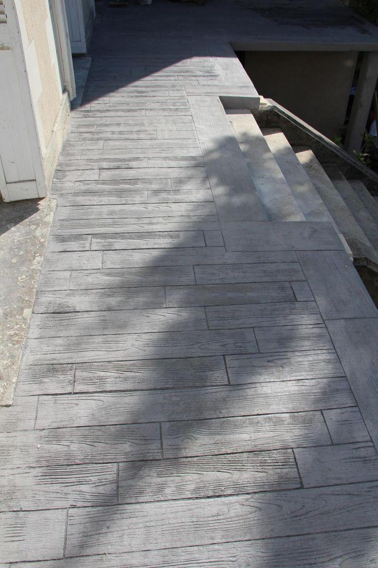 1000 id es sur le th me beton imprim sur pinterest terrasse beton imprim b ton d coratif et. Black Bedroom Furniture Sets. Home Design Ideas