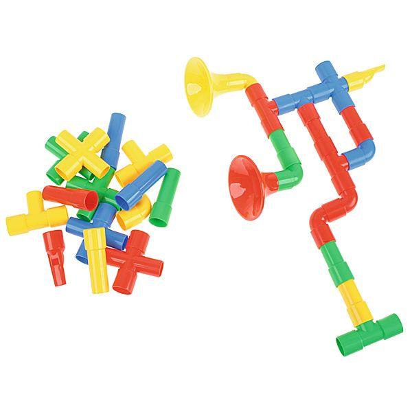 Klocki konstrukcyjne trąbka Moje Bambino #fun #toys #kids #bricks  http://www.mojebambino.pl/zabawki-klocki-i-gry/3523-klocki-konstrukcyjne-trabka.html