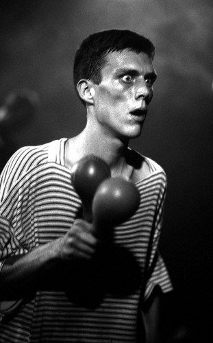 Bez of the Happy Mondays, Live at the Free Trade Hall, Manchester 1989 - Peter J Walsh