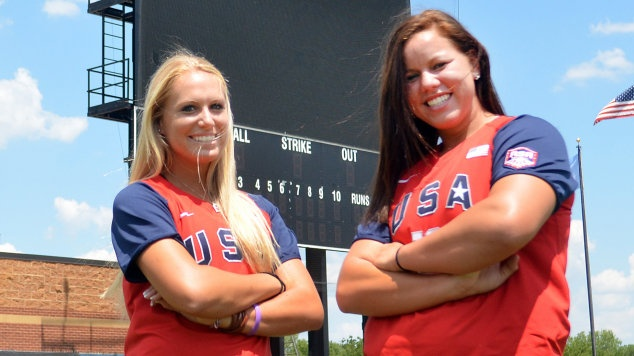 This week, the Amateur Softball Association named Sooner catcher Jessica Shults to the 2012 U.S. National Team. She joins OU pitcher Keilani Ricketts, who was named to the team in January. Boomer Sooner! They rock