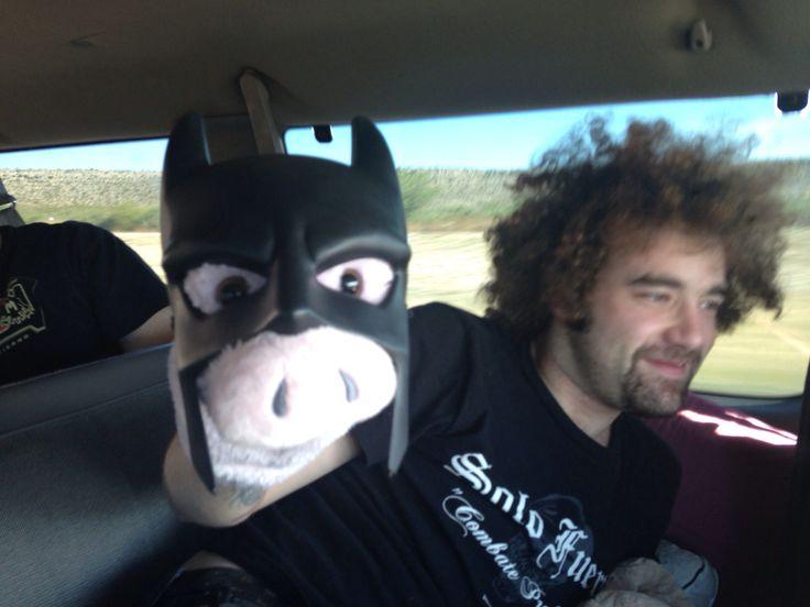 Mr Hampton ? My name is Batman !!!