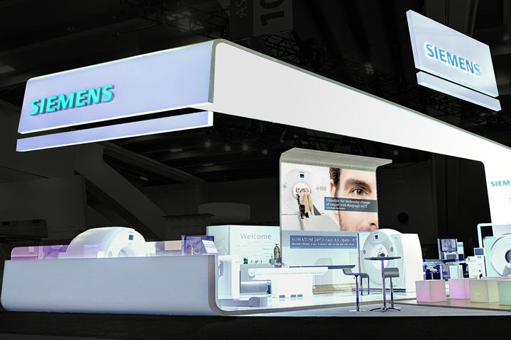 siemens stand at astro 2014 by catalyst san francisco california trade fairs architecture. Black Bedroom Furniture Sets. Home Design Ideas